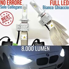 Kit FULL LED luci auto H7 BMW SERIE 1 F20 Anabbaglianti CANBUS 6500K msport fari