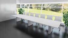 MEETING ROOM OFFICE BOARDROOM TABLE ON BOX BASES