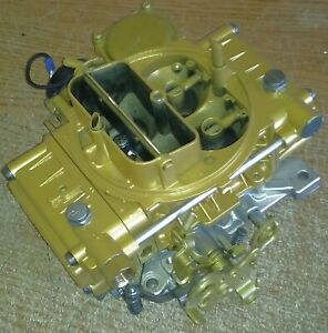 Holley 9834 600 cfm carb &  live video testing