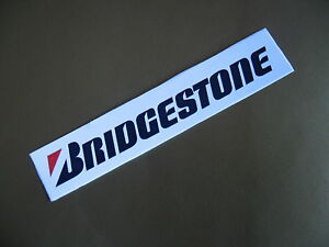 BRIDGESTONE stickers/decals x2