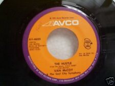 "VAN McCOY ""THE HUSTLE / HEY GIRL COME AND GET IT"" 45"