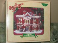 CLEVELAND ELEMENTARY SCHOOL~ Dept 56 A Christmas Story
