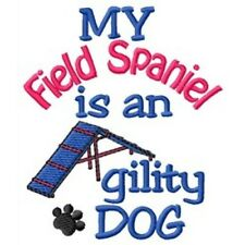 My Field Spaniel is An Agility Dog Fleece Jacket - Dc1894L Size S - Xxl