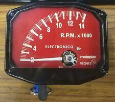 Compte-tours Motoplat Rouge 14000 RPM 2 temps/4 temp drehzahlmesser Krober style