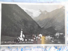 Neustift Stubaital Gletscher Foto Österreich Postkarte Ansichtskarte 4157