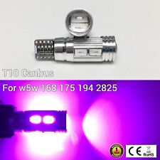 T10 194 168 2825 175 12961 Parking marker Light Purple 10 SMD LED Bulb M1 MAR