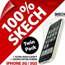 Nouveau Golla noir téléphone étui pochette sac + 2 x protections d'écran pour iPhone 3G/3GS