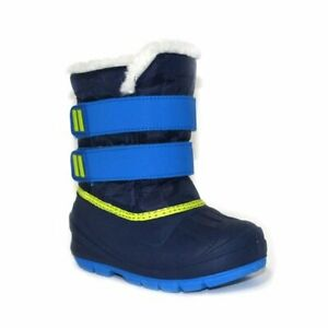 Toddler Boys Lev Blue Sherpa Lined Winter Boots Cat & Jack