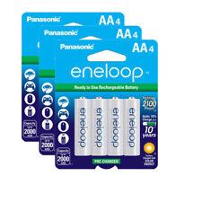 3x Panasonic Sanyo Eneloop 12 Pack AA NiMH 2000Mah Rechargeable Battery #8036 x3
