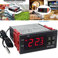 220V STC-1000 Digital Probe Temperature Controller Thermostat LCD Display Heater