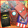 3D Reisepasshülle Kinder Batman Superman Spiderman Captain America Kitty P-Leder