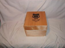 "ASYLUM CIGARS ""13"" 2013  70 x 7 WOOD CIGAR BOX HOLDS 30 CIGARS"