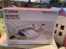 CANON PIXMA MG3650S All-in-One Wireless Inkjet Printer, Copier, Scanner - WHITE