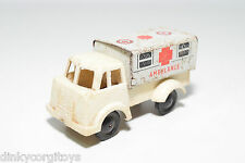 TINPLATE BLECH UK ENGLISH WELLS BRIMTOY AMBULANCE TRUCK EXCELLENT CONDITION