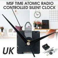 GB Atomique Radio Télécommandé Silencieux Horloge Msf Temps Mouvement DIY Kit