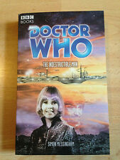Dr Doctor Who The Indestructible Man BBC Paperback Book Simon Messingham Paper