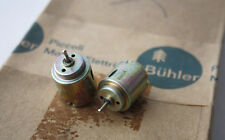 2X RARE VINTAGE BUHLER ELECTRIC MOTOR WZY-1-131 NEW UNUSED NOS !