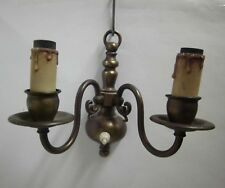 50 / anni '60anni '60 Lampada da parete Stampo per candela ottone medio SECOLO