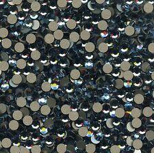 2028 SS12 DB ***  40 STRASS SWAROVSKI FOND PLAT 3,1mm DENIM BLUE F