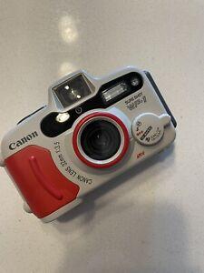 Film Tested Canon Sure Shot WP-1 Weatherproof Underwater Camera