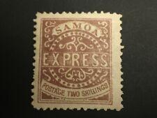 British Samoa Stamp # 7a Mint Og H $235 - Lot #70