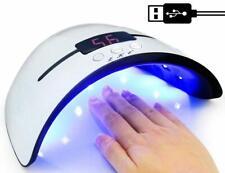 Lampara Uv Led De 36W Gel Polaco Secador De Uñas Para Todos Manicura Portatil