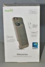 moshi iGlaze ion 2-Piece Modular Battery Case iPhone 6/6s - Brushed Titanium