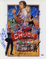 Cast signed Chuck Signed 8x10 autographed RP Photo