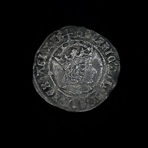 Hammered Tudor Period Henry VIII Silver Groat