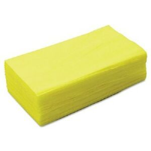 """Yellow Treated Dust Cloth  1lb 36pc 24"""" x 24"""" or 50pc 17"""" x 24"""""""