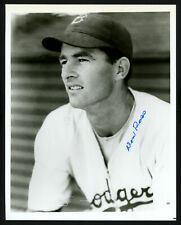 Don Ross Authentic Autographed Signed 8x10 Photo Brooklyn Dodgers 154638