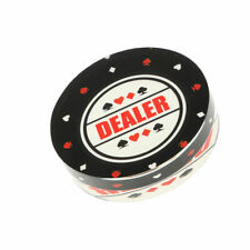 Acrylic Dealer Button Puck for Party Casino Table Game Supplies 3inch