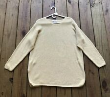 bae6e9a38ffa Nordstrom women's L gold sparkle long sleeve soft oversized tunic sweater