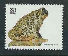 Scott # 3105-g...32 Cent...Endangered Species/Toad..5 Stamps