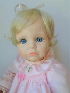 1990 Susan Wakeen LOVE ME TENDER Baby Girl Doll in Pink #3459/5000