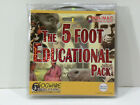 """""""THE 5 FOOT EDUCATIONAL PACK""""_Ten (10) Resource & History CDs_Very Unique_New"""