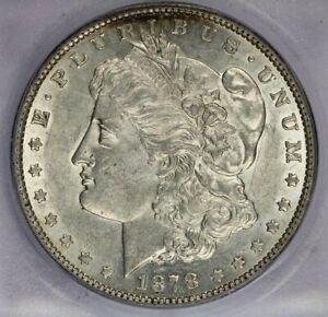 1878-P 1878 7TF Morgan Dollar ICG AU55 Rev. '79