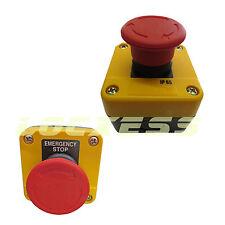Notausschalter Notaus-Drucktaster Sicherheitsschalter  im Gehäuse Aufputz IP65