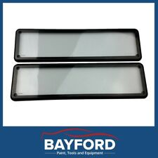 LICENCE REGO PLATE COVER SURROUNDS WATERFROOF SLIMLINE SIZE VIC & OTHER PLATES