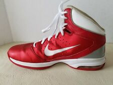 NIke Airmax womens high Top Basketball Shoes Red  size 9