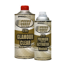 Ultra High Gloss 2.1 voc Clear Coat, 2:1 Clearcoat 48 oz. Med. Kit, SS-1200/75-Q
