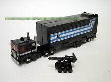Smallest WST G1 black Optimus Prime w/ battle stand