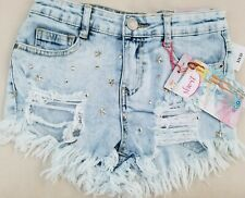 ALMOST FAMOUS High RISE cutoff denim shorts size 0