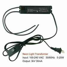 3Kv Power Supply For Glass Neon Sign Electronic Neon Light Transformer Us Ship