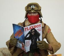 1/6 Scale Four Custom Playboy GI Joe themed - several interior pages - Set 2