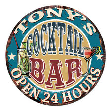 Cpco-0103 Tony'S Cocktail Bar Father's Day Valentine's Day Christmas Gift Sign