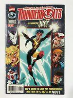 THUNDERBOLTS #4 (1997) | 1ST FIRST HALLIE TAKAHAMA AS JOLT