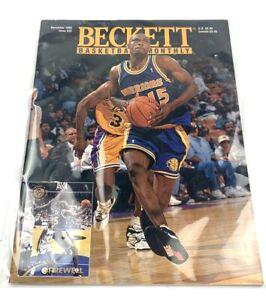 Beckett Basketball Magazine Monthly Issue 53 December 1994 Latrell Sprewell