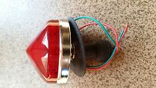 Lights Healey Style Tail lamp Turn Signal Amber 3.25 Round Cobra Replica  AC ACE