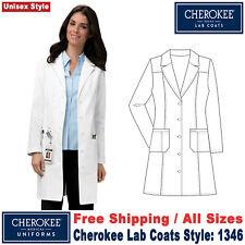 Cherokee Scrubs Unisex Fashion Medical Lab Coat 40 Inch 1346